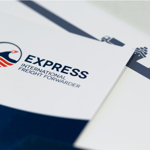 mintlab brand identity Express International Freight Forwarder