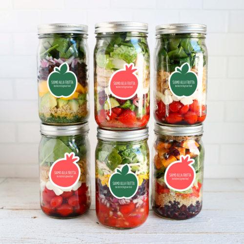 mintlab brand identity siamo alla frutta jars