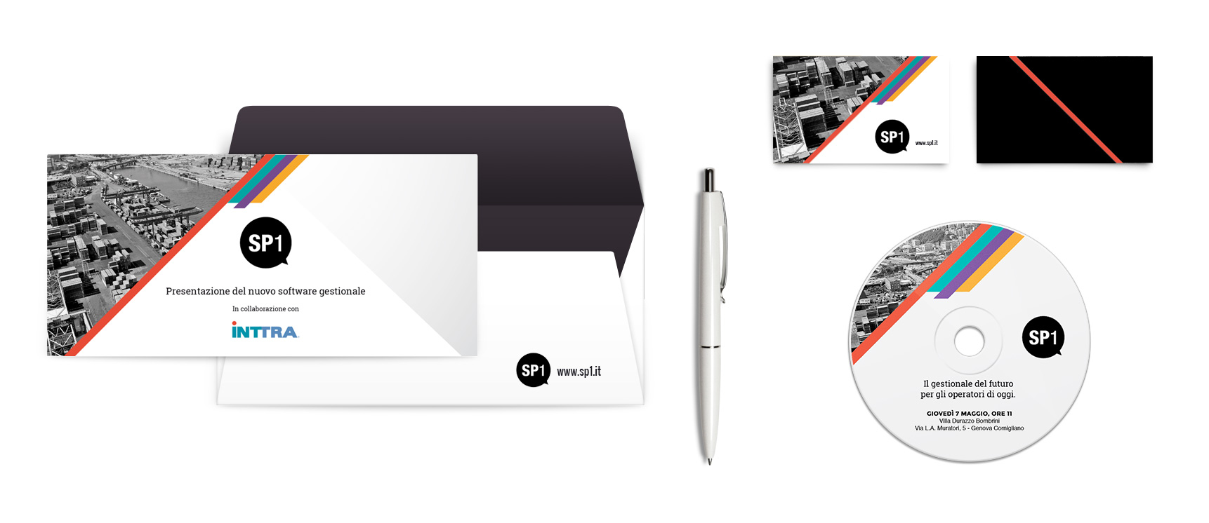 mintlab brand identity SP1 freight shipping icon system