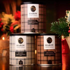 HARDY Coffee company<span>brand identity</span>