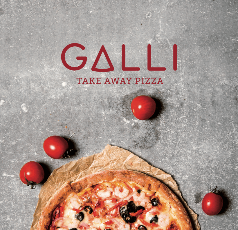 mintlab brand identity galli take away pizza