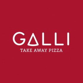 GALLI take away pizza<span>brand identity</span>