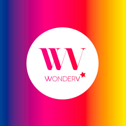 WonderV logo brand identity photographer