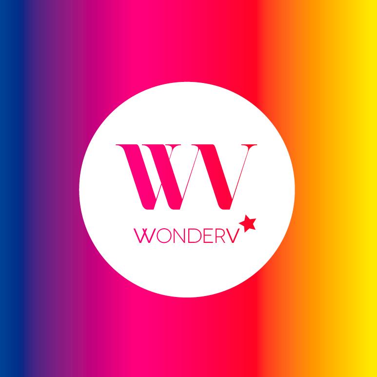 WonderV logo brand identity photographer