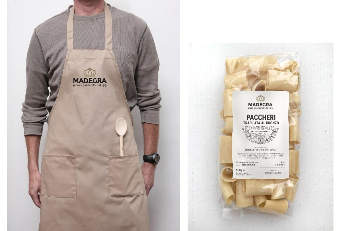 mintlab-brandidentity-Madegra-pizza-e-panzerotti-grembiule-etichetta-pasta-paccheri