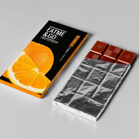 chocolate bar package