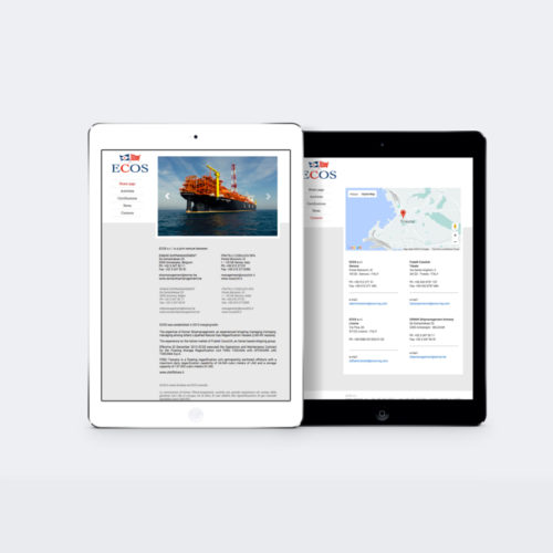 mintlab webdesign Ecos layout