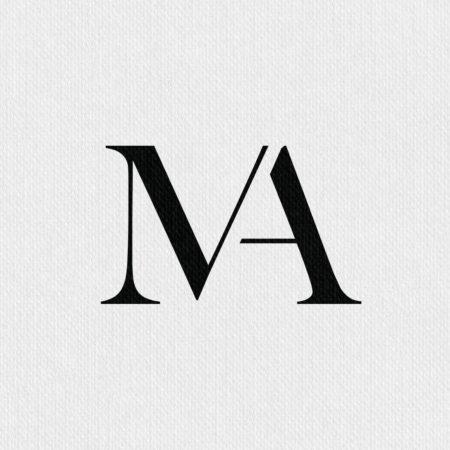 Malbini logo design maddalena albini